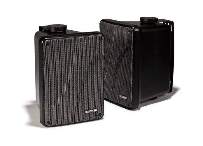 "Kicker KB6000 6.5"" Full Range Marine Speakers"