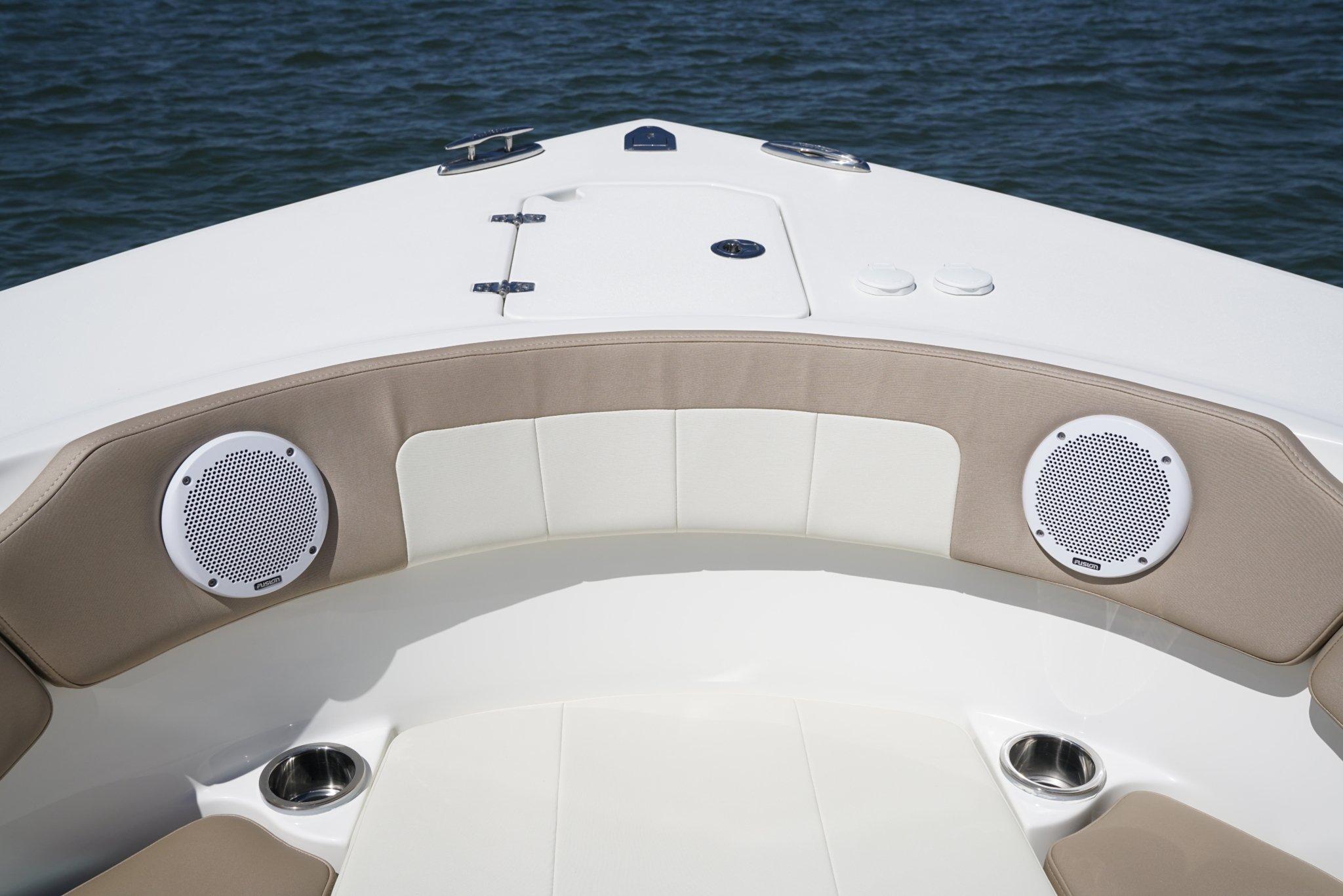 """Pyle 2 Way 6.5/"""" 200W Full Range Marine Speakers Tweeter Boat Stereo Sound Audio"""
