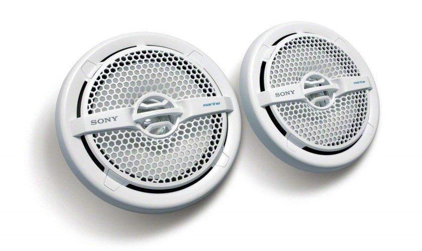 Sony XSMP1611 6.5-Inch Dual-Cone Marine Speakers