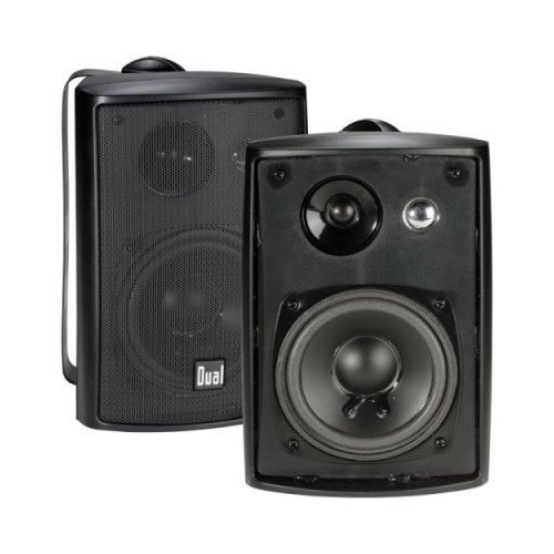 Dual Electronics LU43PB 3-Way Outdoor Speakers