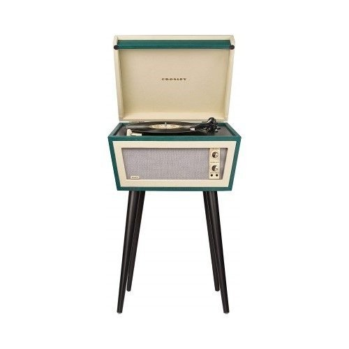 Crosley CR6231A-GR1 Sterling Portable Turntable - Best Record Player with Speakers