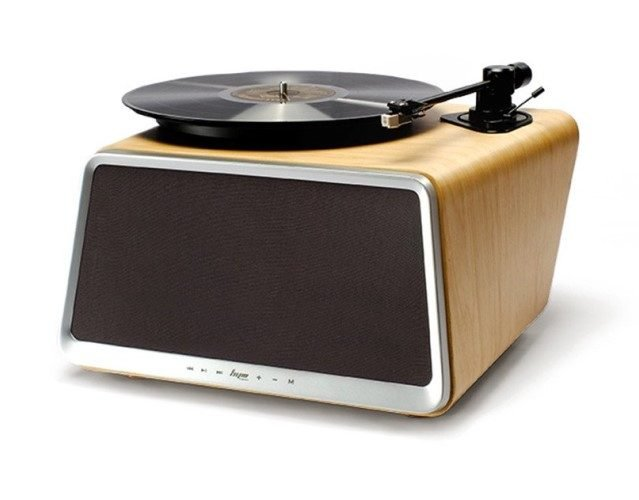 HYM Seed Superior Vinyl Record Player - Best Record Player with Speakers