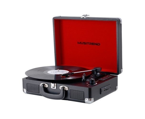 Muistrend Bluetooth Portable Record Player