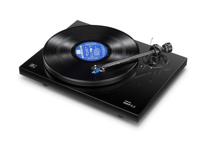 Music Hall MMF 2.2 Belt Driven Turntable - Best Record Player with Speakers