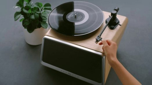 Best Record Player with Speakers - Audiostance