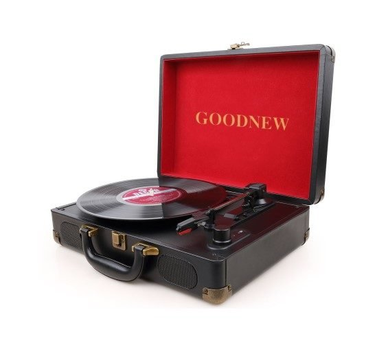 Goodnew Suitcase Record Player