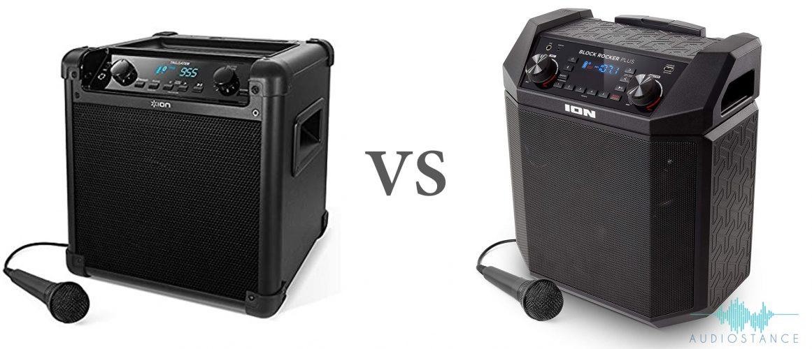 ION Tailgater vs Block Rocker Plus - Audiostance